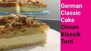 German Classic Cake | Olmon Klassik Torti | Deutscher klassischer Kuchen