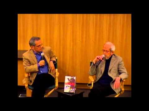 Elmore Leonard and Mike Lupica at Barnes and Noble, E. 86th St. NYC