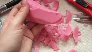 ASMR Soap Cutting Mixed Tools NO TALKING