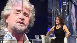 Virginia Raggi a Porta a Porta: CANDIDATO SINDACO M5S PER ROMA
