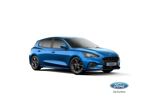 Hot New Focus St Line 2018 Desert Island Blue Youtube