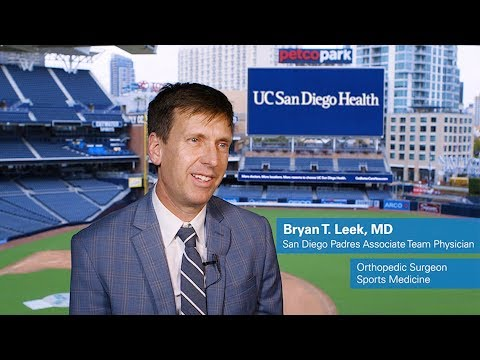 Meet Bryan Leek, MD, Sports Medicine Physician And Orthopedic Surgeon