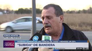 Este sábado aumenta 20,37% la tarifa de taxis y remises