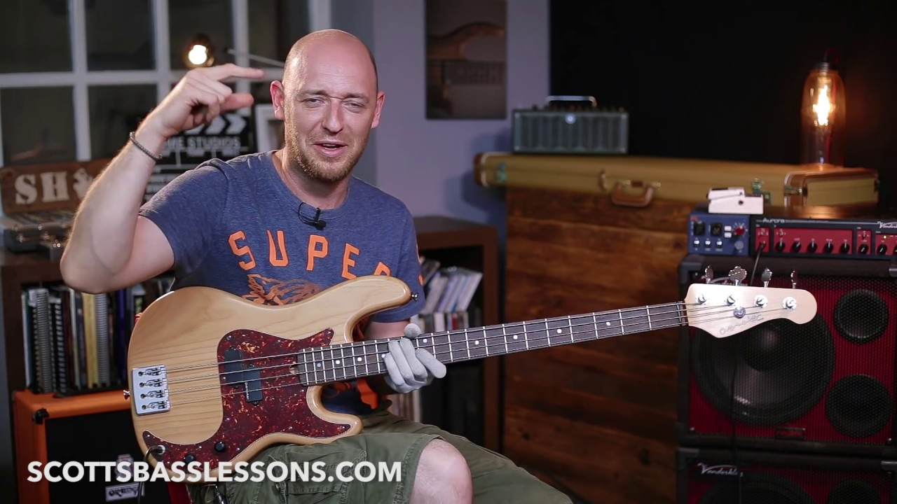 Scotts bass lessons giveaway