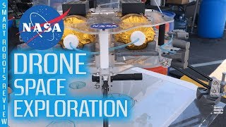 NASA Prospecting Free Flyer - Space Drone for Mars and Moon Exploration - Smart Robots Review