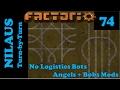 Factorio S6E74 - Designing an alternative to a roundabout
