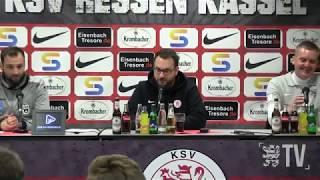 löwen.tv • Pressekonferenz  KSV Hessen - SSV 1846 Ulm - 14.03.2018