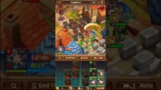 [Valiant Force] Capitol 3 3-4 star Rune Farming