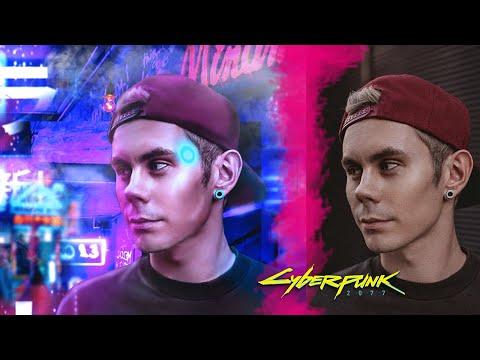 ЯН #ТОПЛЕС In Cyberpunk 2077 | Speed-Art [Photoshop]