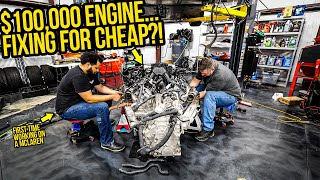 Everything Wrong With My Wrecked Mclaren 675LT's Broken $100,000 Engine (That I'm Fixing For CHEAP)