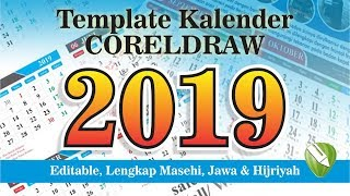 Gambar cover Download Template Kalender 2019