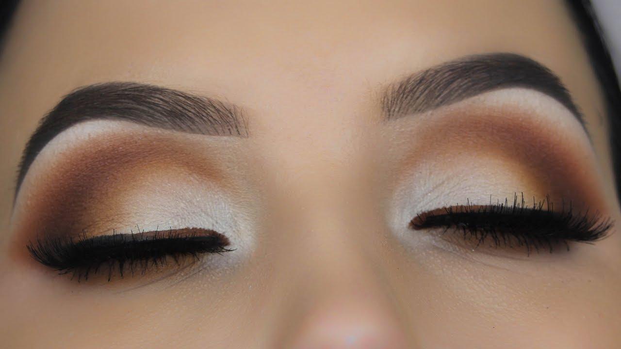 Timeless Matte Brown Eye Makeup Tutorial Youtube
