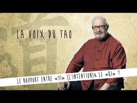 """La Voix du Tao N°3 avec Georges Charles / Rapport entre """"Yi"""" (L'intention) et le """"Qi"""" ?"""