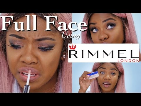 FULL FACE Using Rimmel London | Cydnee Black