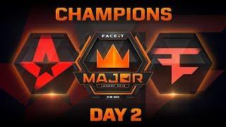 Astralis vs FaZe - Mirage (FACEIT Major: London 2018)