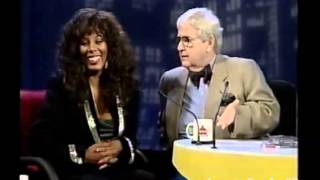 Donna Summer entrevistada por Jô Soares (Brasil, 1995)
