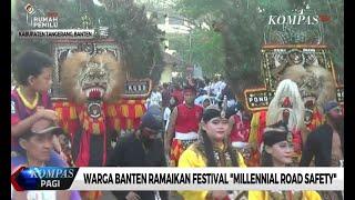 """Warga Banten Ramaikan Festival """"Millennial Road Safety"""""""