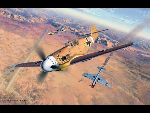 Обзор и сборка модели Мессершмитт» BF-109 F2 - часть 1