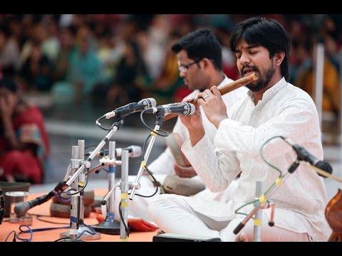 Instrumental Music (Flute) by Sri. jayanth at Prasanthi Nilayam   - Oct 26 2015