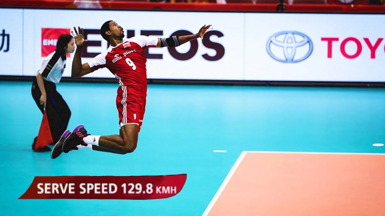 The Most Powerful Volleyball Serves | World Cup 2019