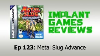 Metal Slug Advance Review (Game Boy Advance)