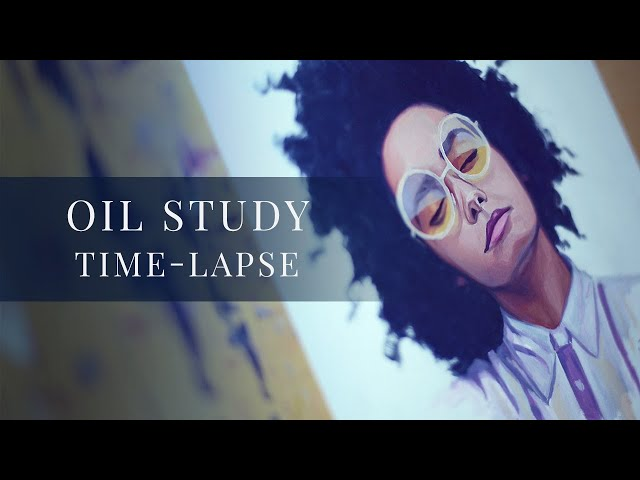 Chill Purple » Oil Study Time-lapse by Tianna Williams