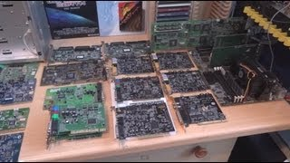 Retro hardware collection overview April 2013