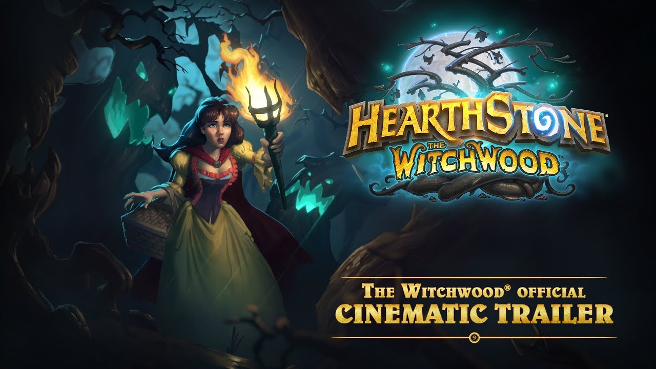 hearthstone the witchwood trailer youtube