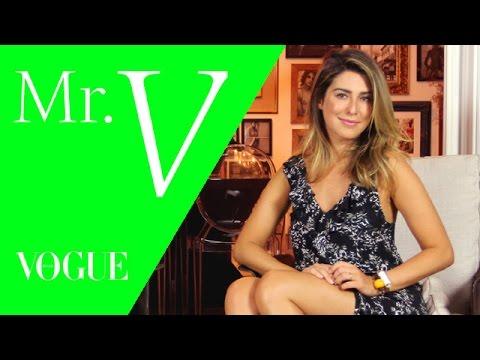 Fernanda Paes Leme Bate Um Papo Com Matheus Mazzafera No Mister V