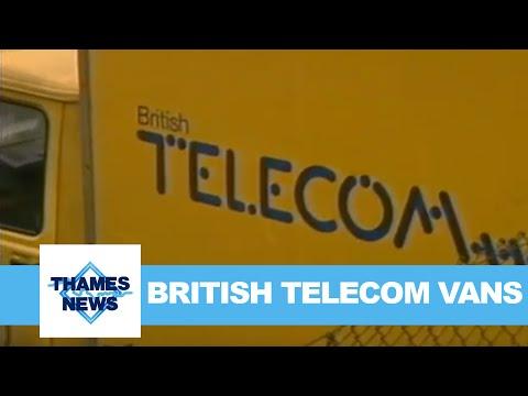 British Telecom Vans | Thames News