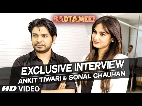 Exclusive Interview with Ankit Tiwari & Sonal Chauhan | Badtameez | T-Series
