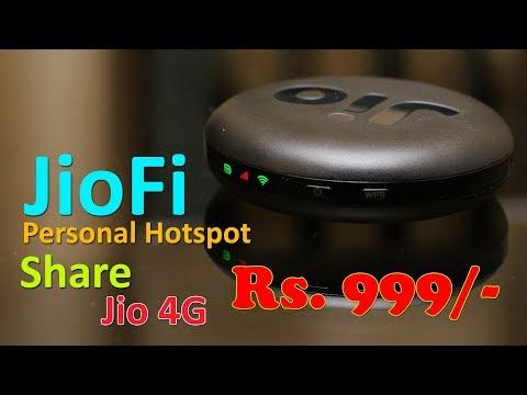 JioFi JMR815 Review - Personal Hotspot For JIO 4G For Rs. 999