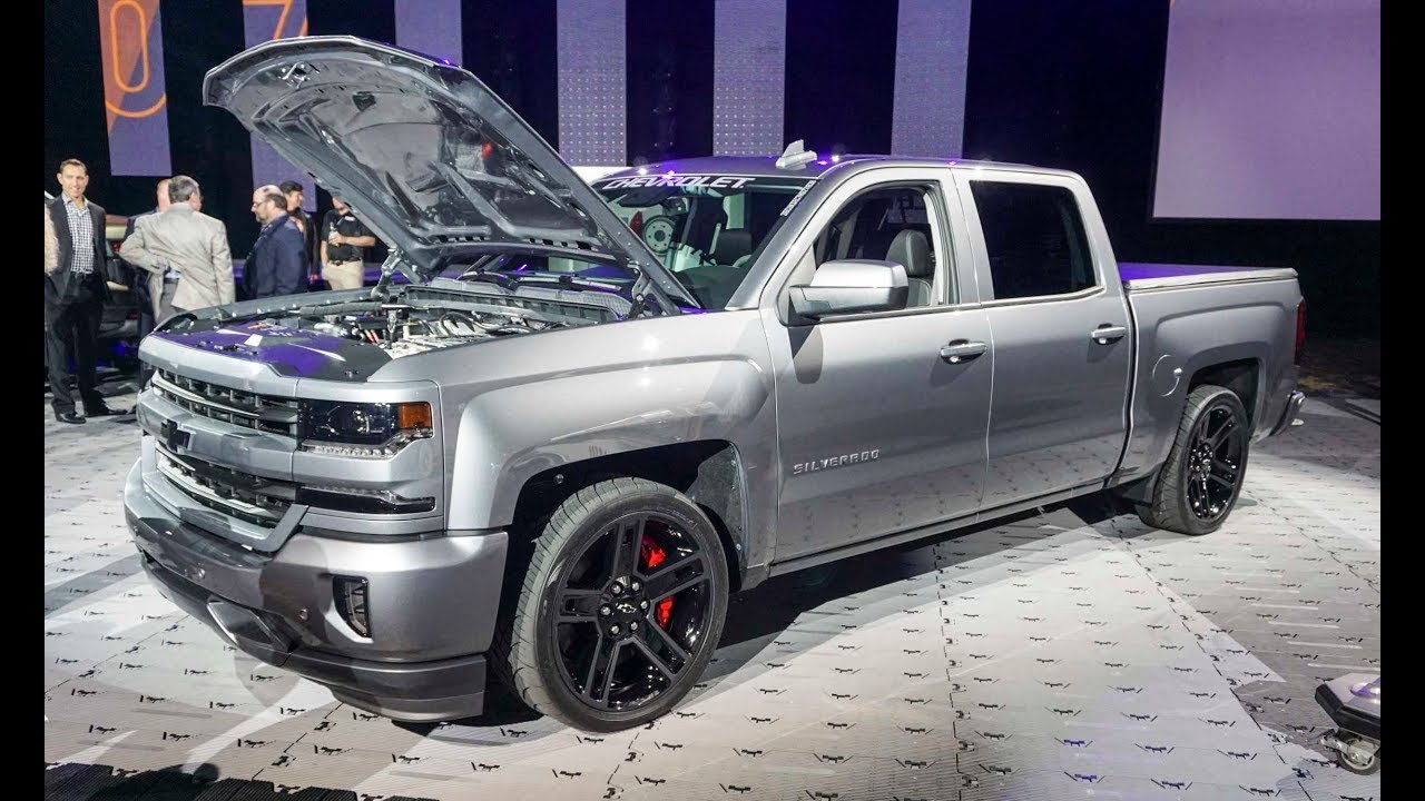 2018 Chevrolet Silverado Performance Concept