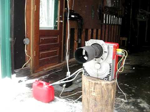 Riello Gulliver BLU BGK 1, oil burner.