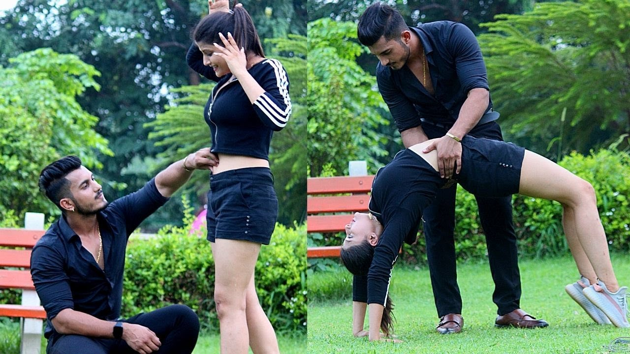 Picking up gym trainer girl in formal dress | Sam Khan