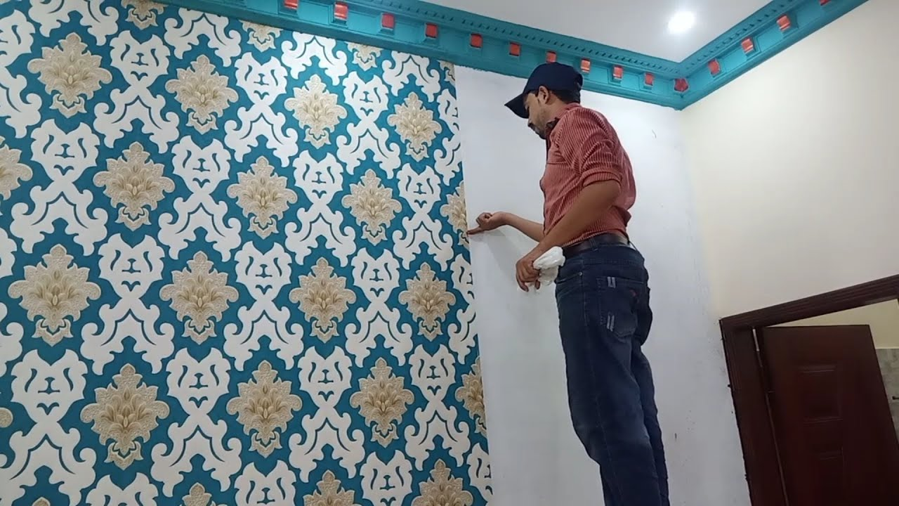 Download How To Install Wallpaper Like A Pro - Residencial Wallpaper Installation - Start To Finish Tutorial