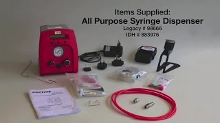LOCTITE Adhesives Training Movie: All Purpose Syringe Dispensing System 98666