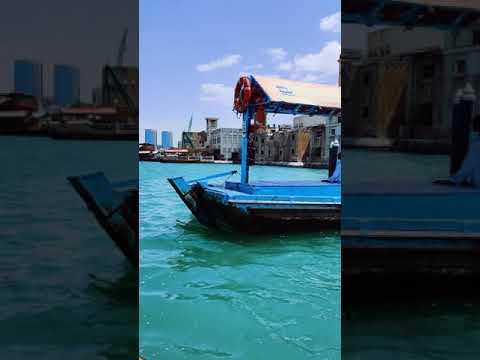 Beautiful View of Birds and Boats in Dubai Creek | ASMR Videos |