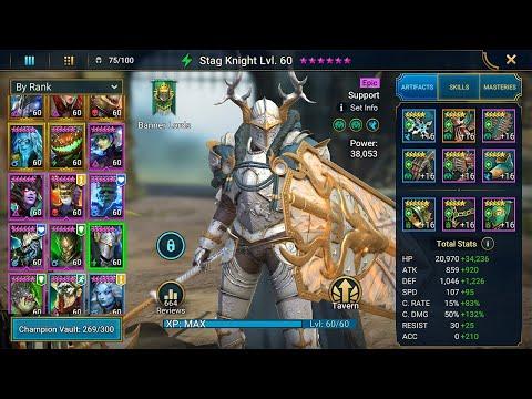 Stag Knight Champion Guide | Raid: Shadow Legends