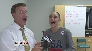 Diana Taurasi talks Team USA, UConn connections and reuniting with Geno