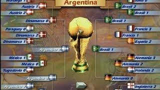 Gameplay Fifa 98 mundial francia 98