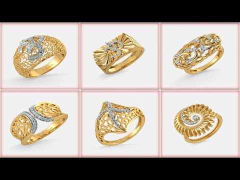 Top 20 Beautiful gold ring Designs