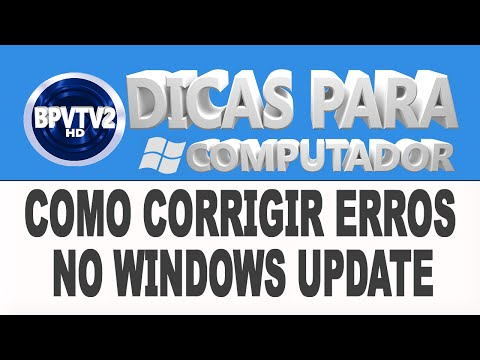 Como corrigir erros no Windows Update
