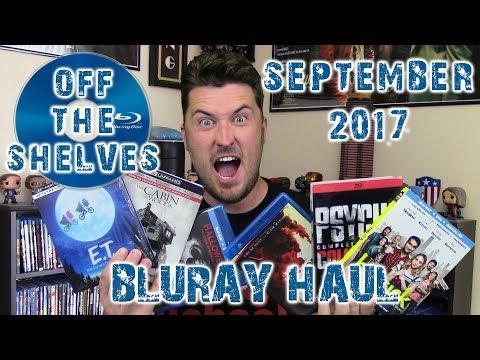 Off The Shelves   September 2017 Bluray Haul!!!