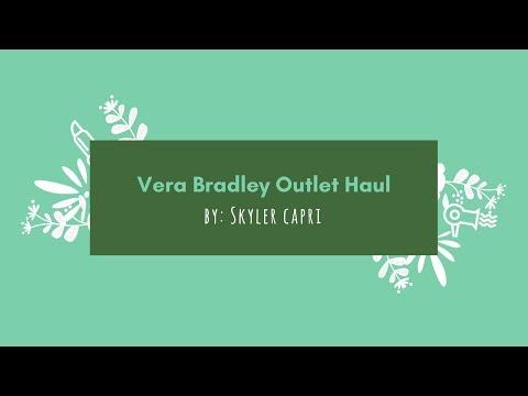Vera Bradley Outlet Haul 🌺👜
