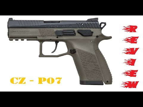 CZ P07 OD Green - Review
