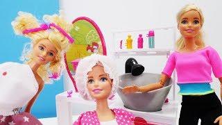 Барби парикмахер: Штеффи проказничает в Салоне Красоты