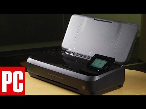 HP OfficeJet 250 Mobile All-in-One Printer Review