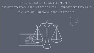 The Legal Requirements for Architectural Services in South Africa