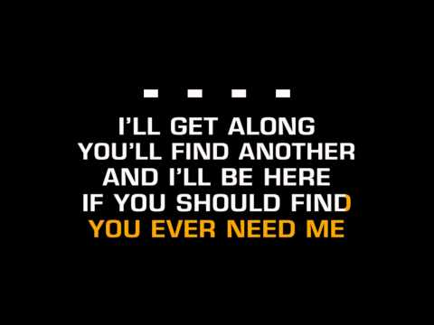 Ray Price - For The Good Times (Karaoke)